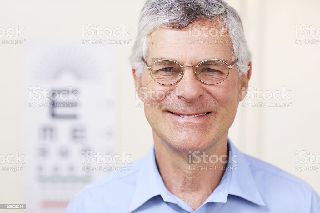 I can see clearly now! royalty-free stock photo