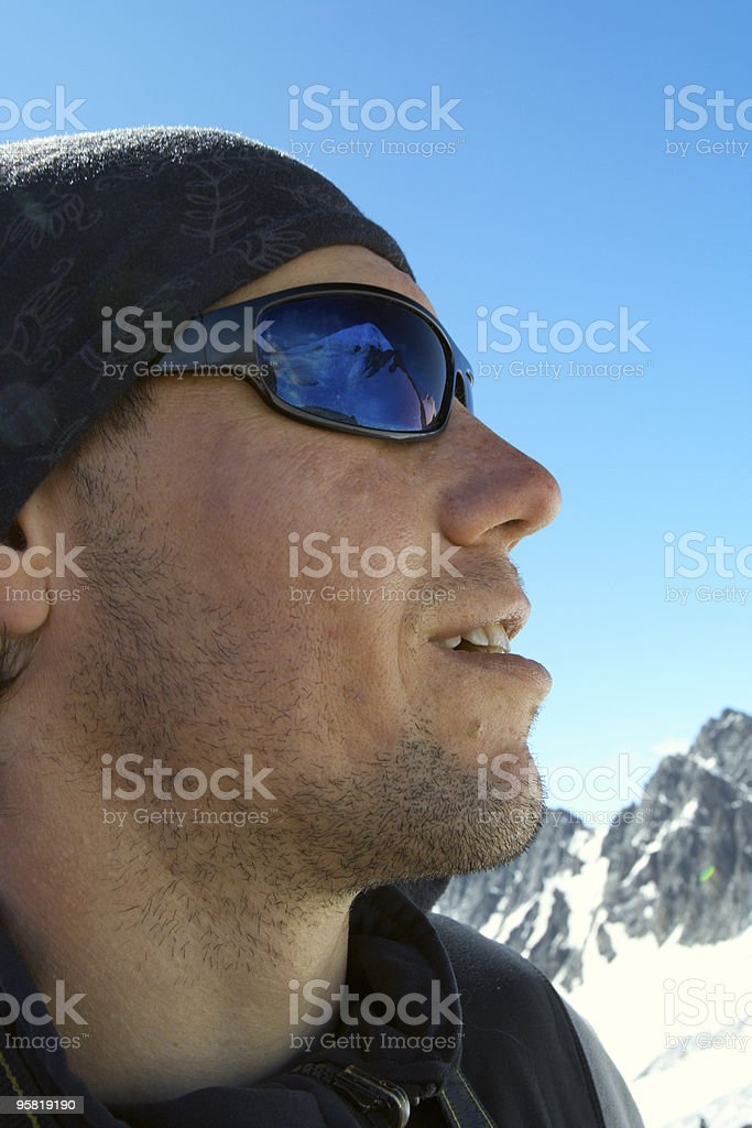 I can see my ultimate aim royalty-free stock photo