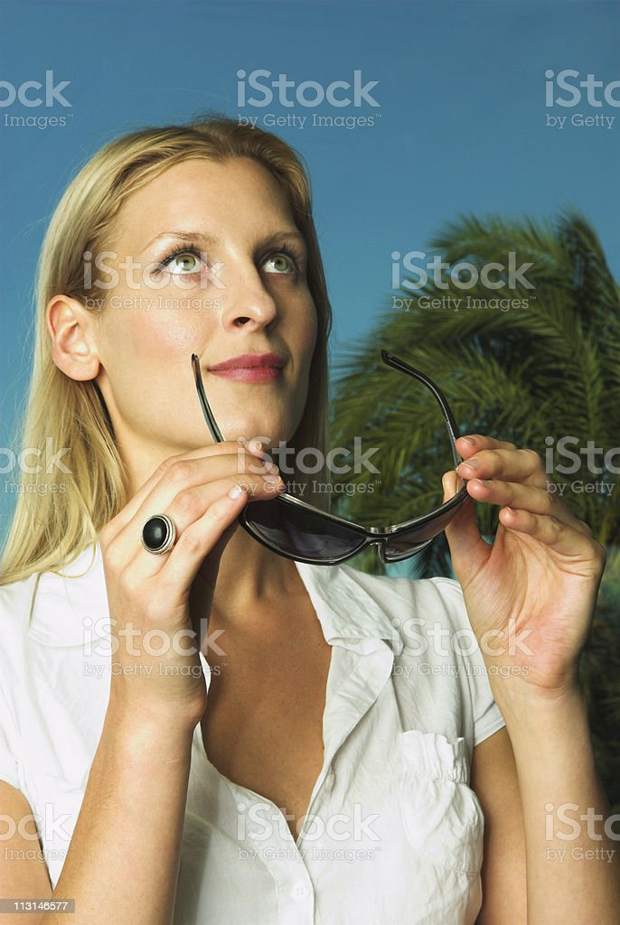 I can see... royalty-free stock photo