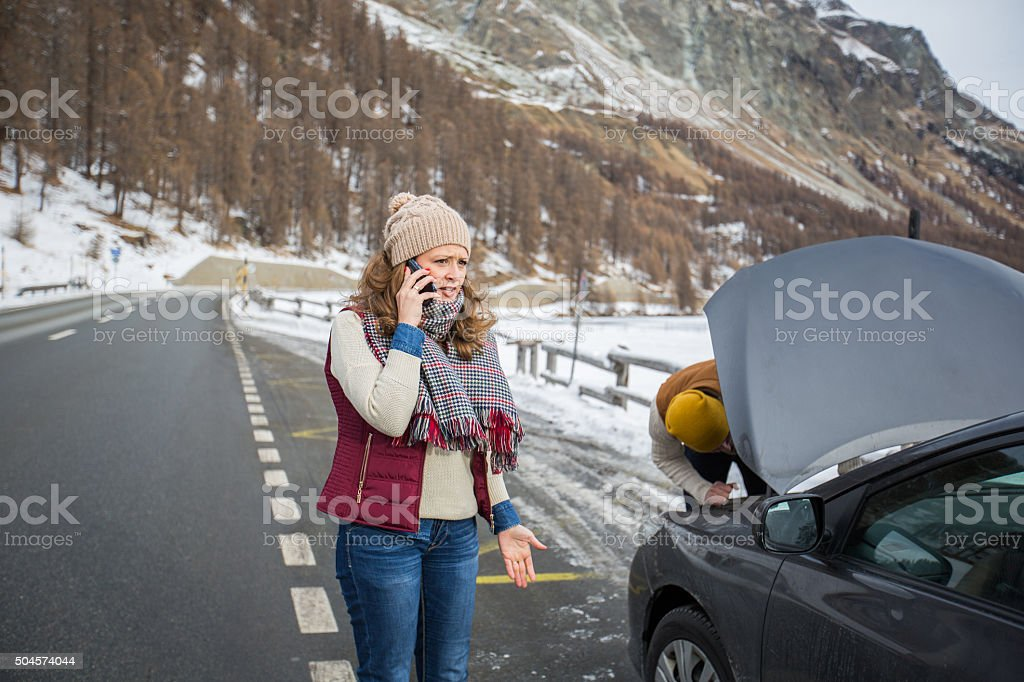 Can someone help us?! stock photo