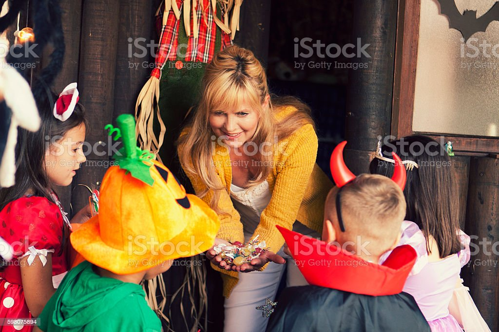 Can we get more candy? stock photo