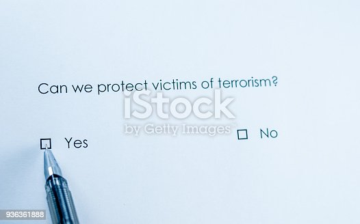 istock Can we protect victims of terrorism? 936361888