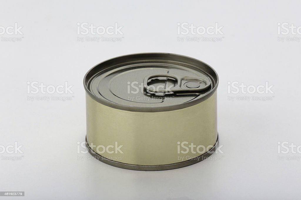 Can with Copy Space stock photo