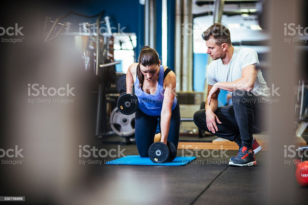 Can you feel your back muscles? stock photo