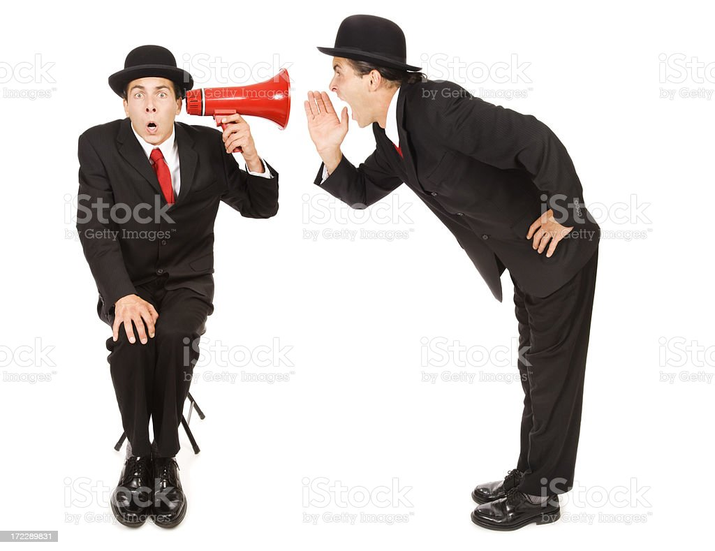 Can You Hear Me Now?!? royalty-free stock photo