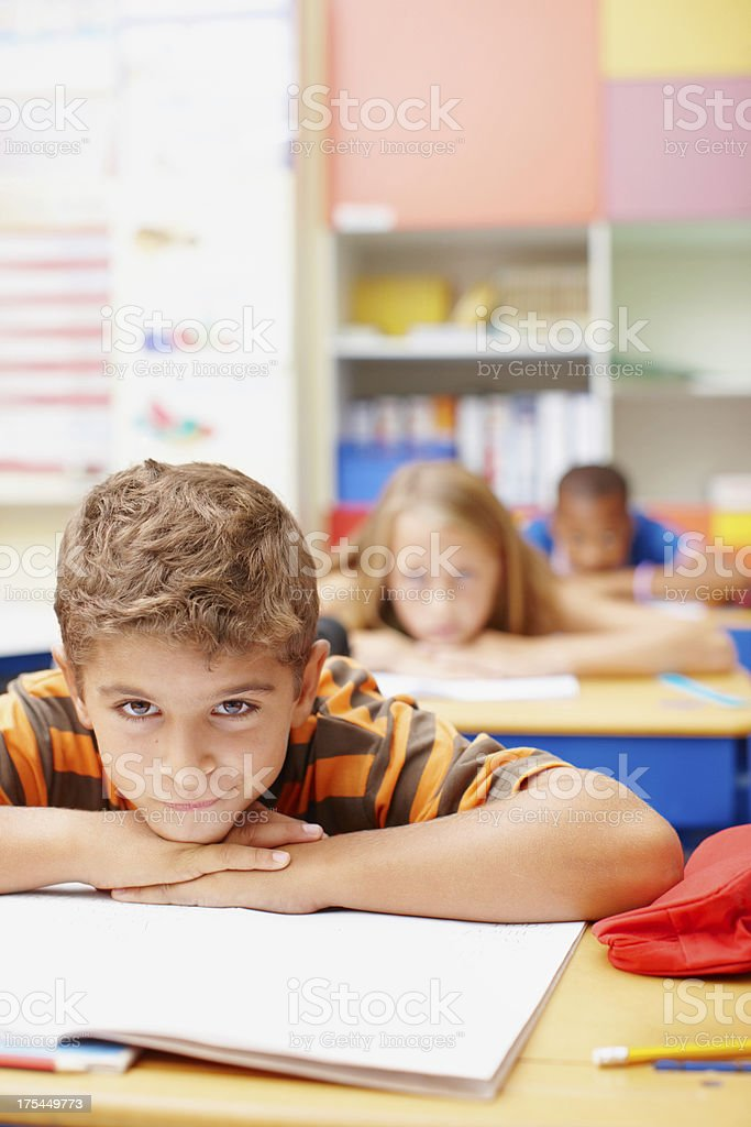 Can you inspire these young minds? - Education royalty-free stock photo