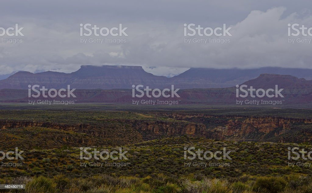 Canaan Mountain Wilderness stock photo