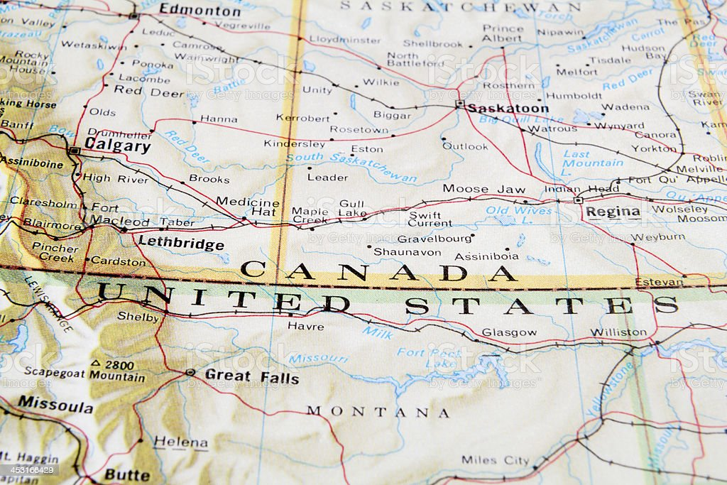Royalty Free Canada Map Pictures Images and Stock Photos iStock