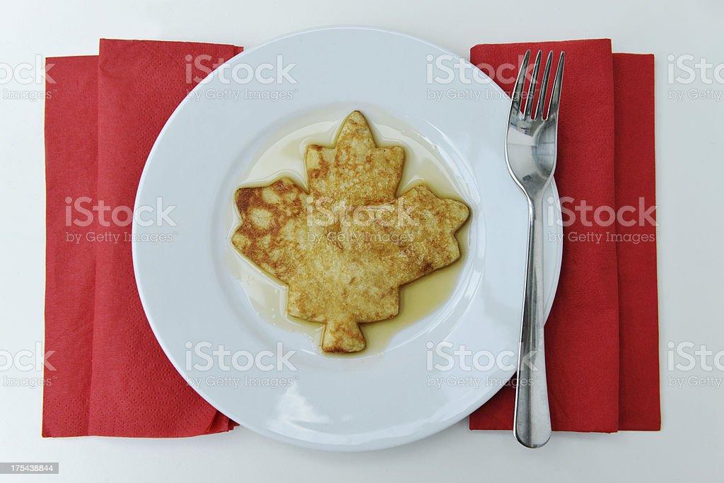 Canada Day Breakfast stock photo