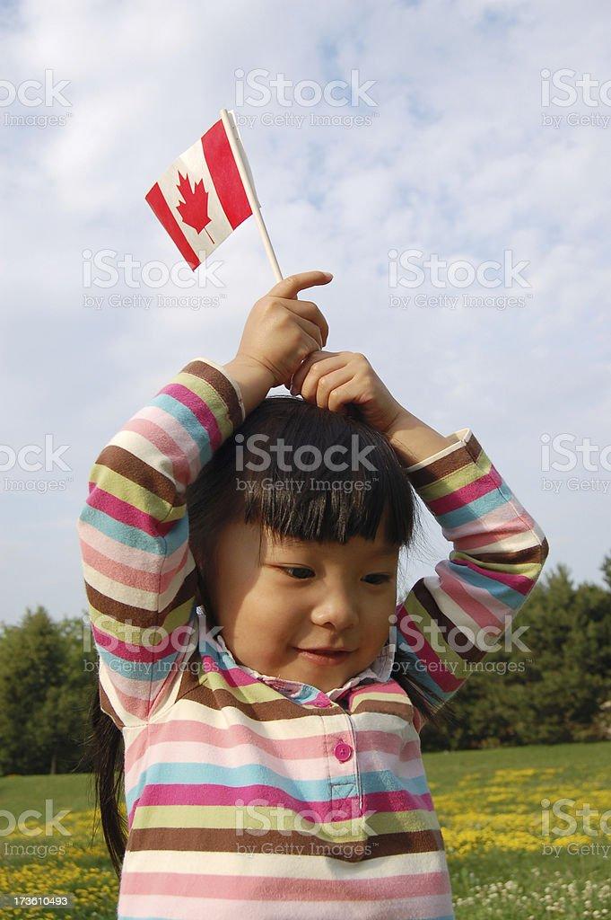 Canada Day celebration royalty-free stock photo