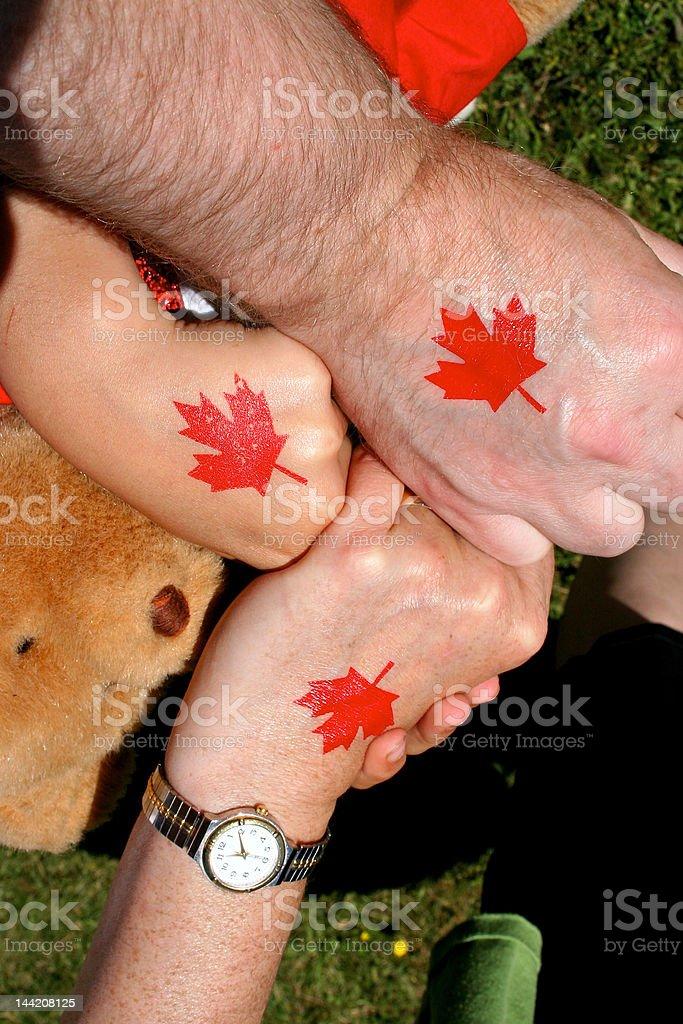 Canada Day stock photo