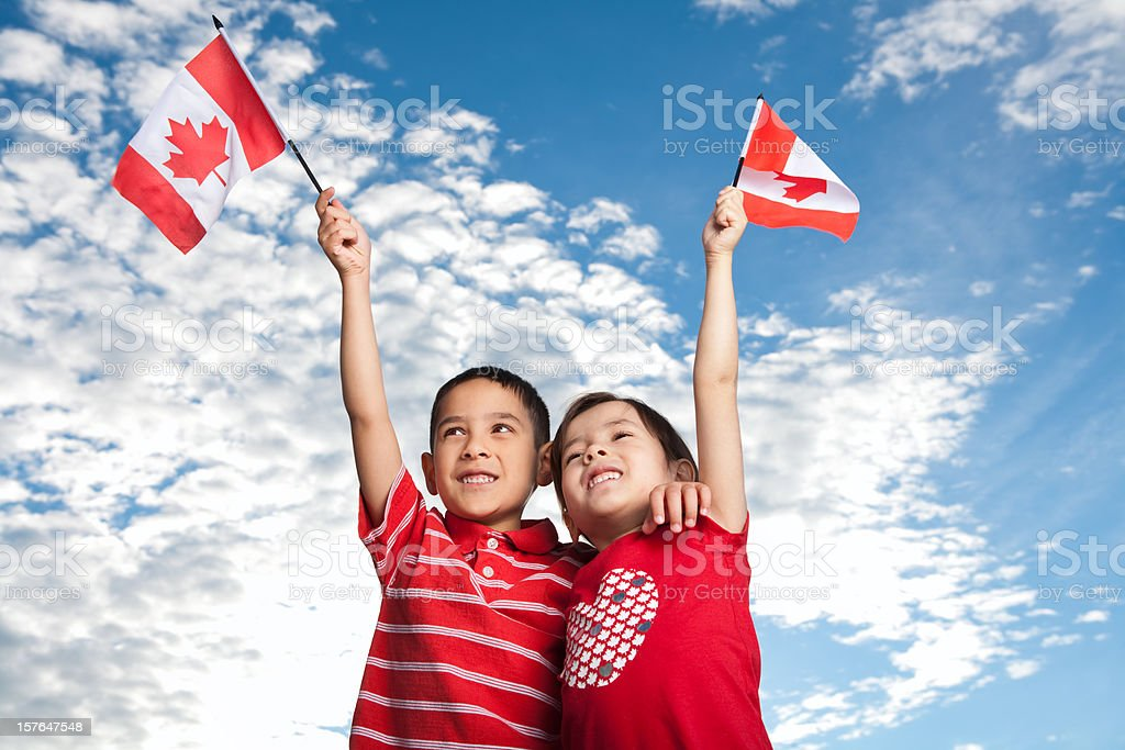 Canada Day royalty-free stock photo