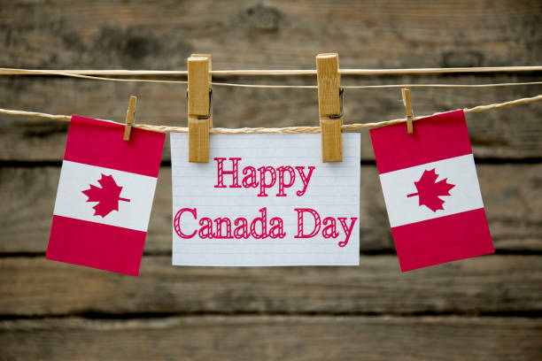 canada day - canada day stock pictures, royalty-free photos & images