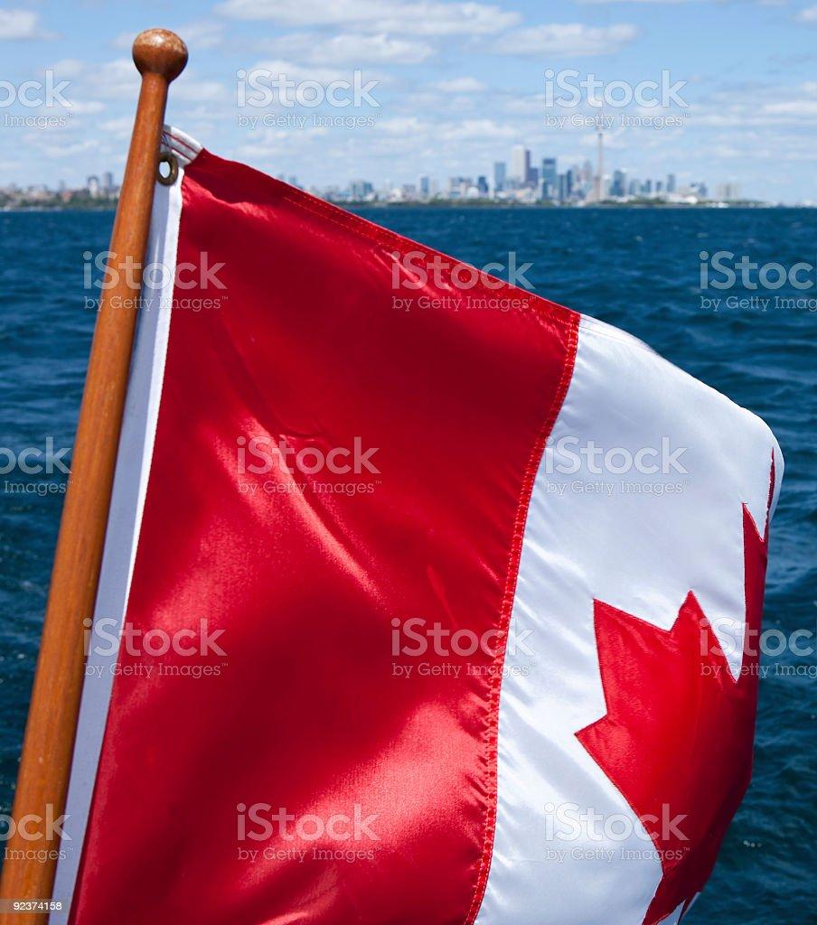 Kanada-Tag Lizenzfreies stock-foto
