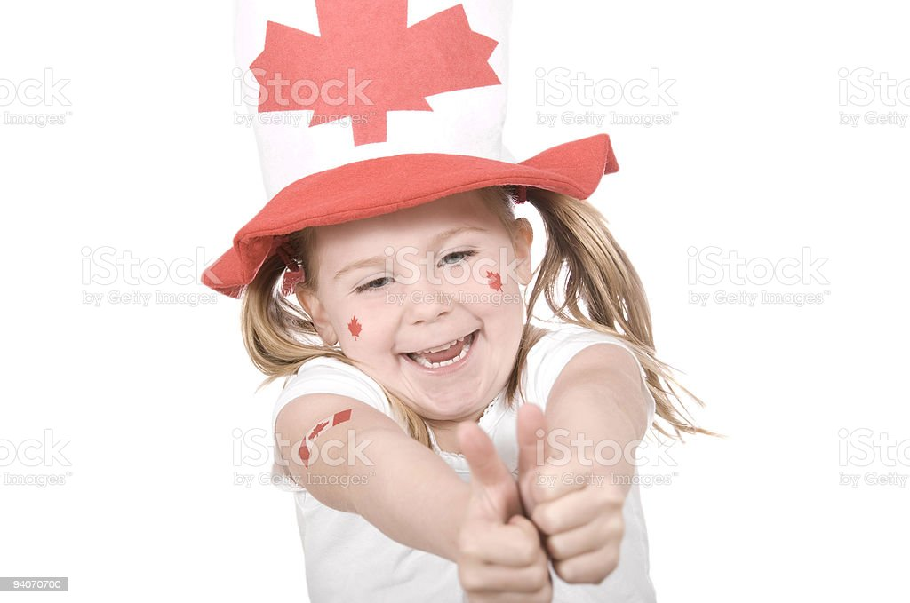 Canada Day Series royalty-free stock photo