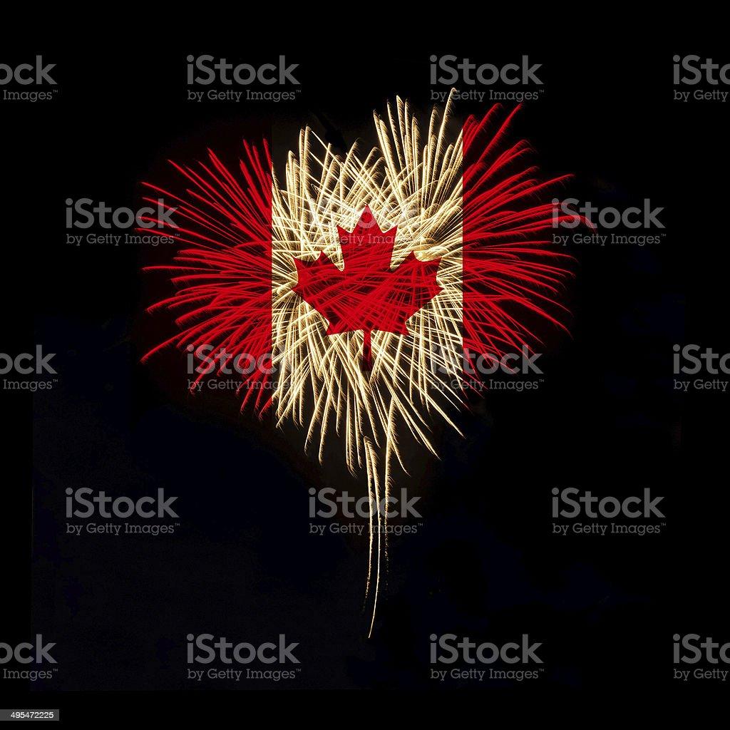 Día de Canadá.  Bienvenido a Canadá - foto de stock