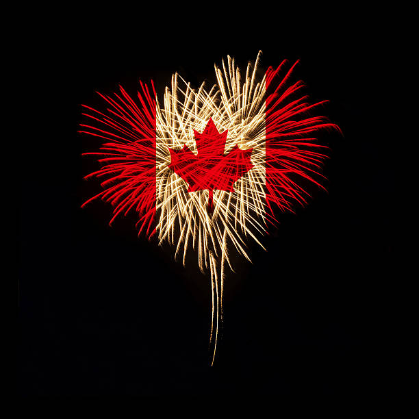 canada day. welcome to canada - canada day stock pictures, royalty-free photos & images