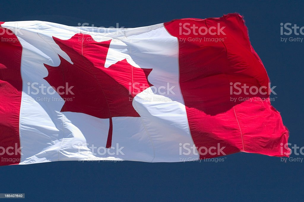 Canada Flag 2 royalty-free stock photo