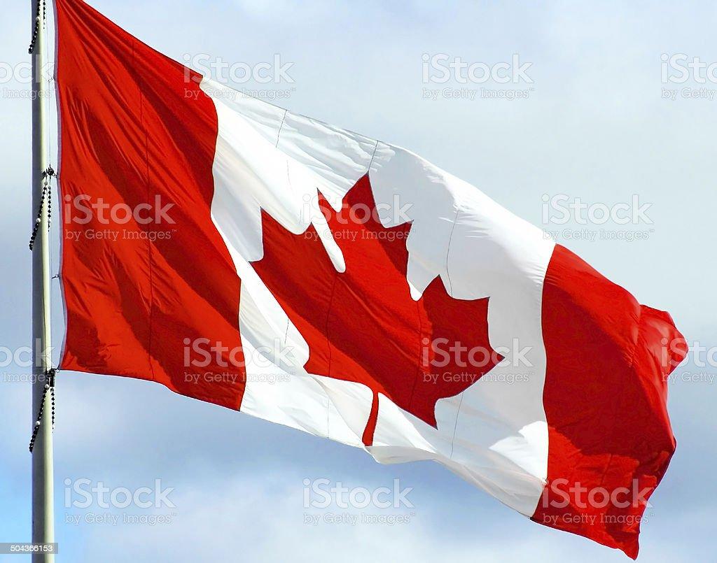 Canada Flag stock photo