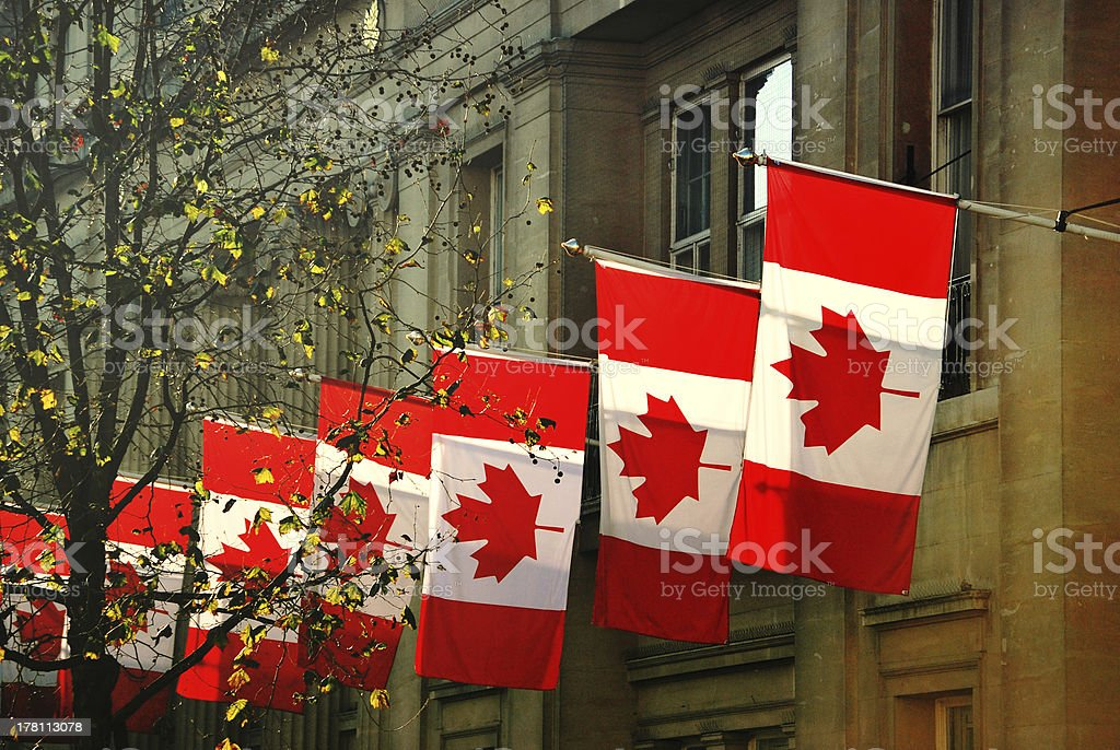 Canada House stock photo