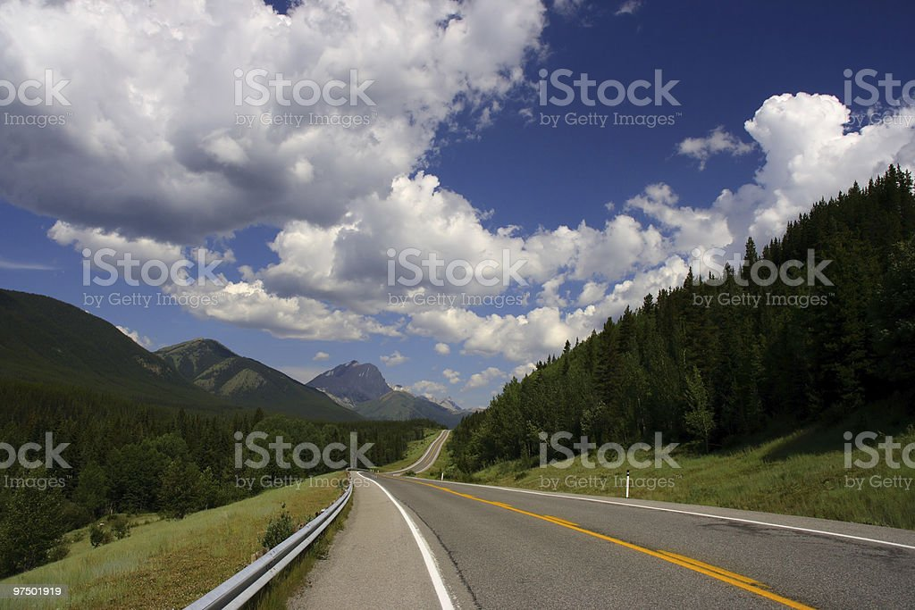 Canada landscape royalty-free stock photo