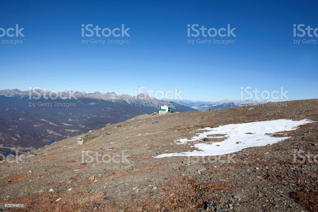 Canada mountain view stock photo