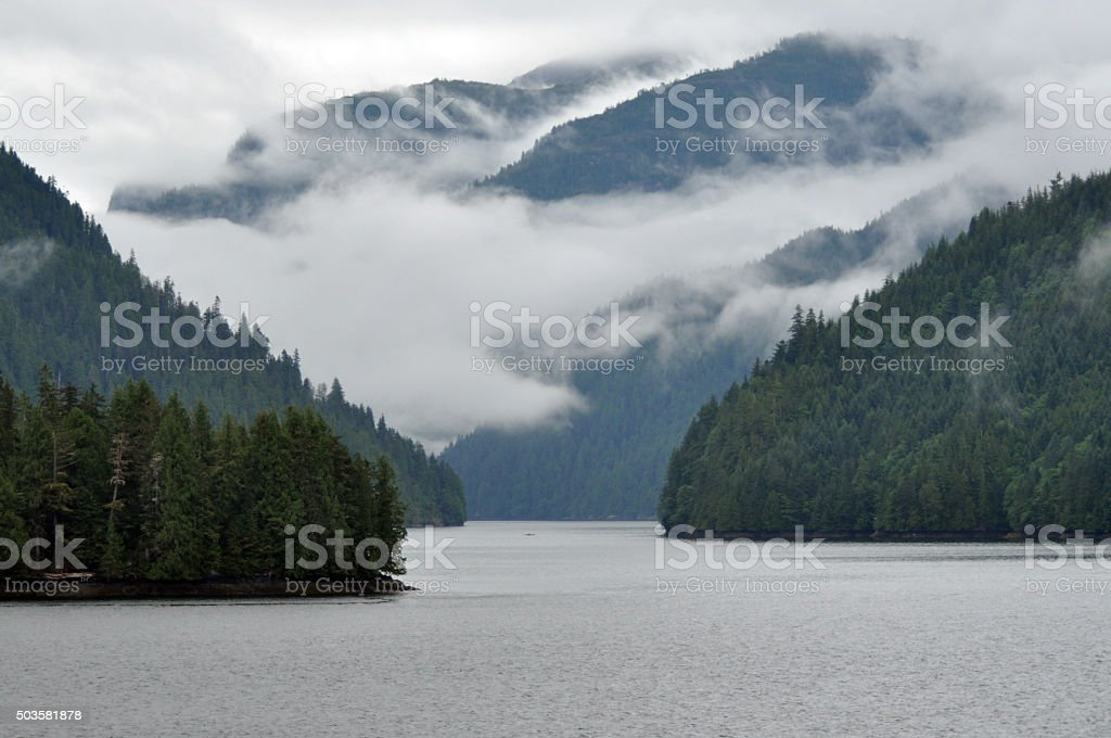 Canada Nature Collection - British Columbia - Inside Passage stock photo