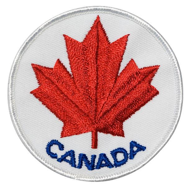 kanada-aufnäher - kanada rundreise stock-fotos und bilder