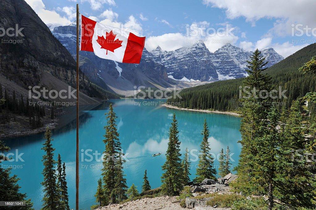 No Canadá - foto de acervo
