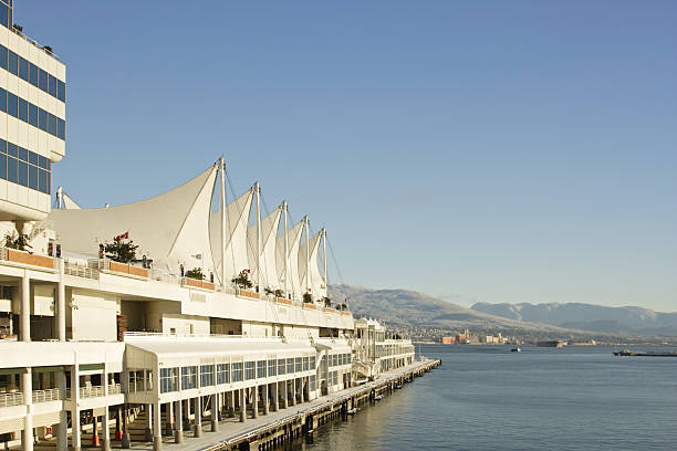 Canada Place, Vancouver stock photo