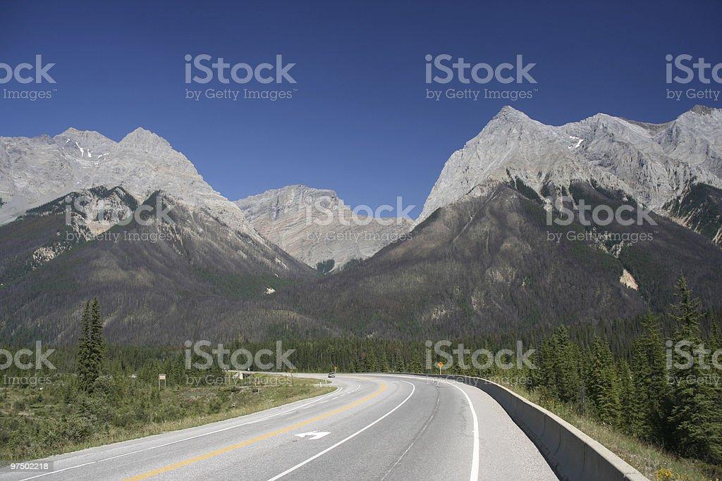 Canada road royalty-free stock photo