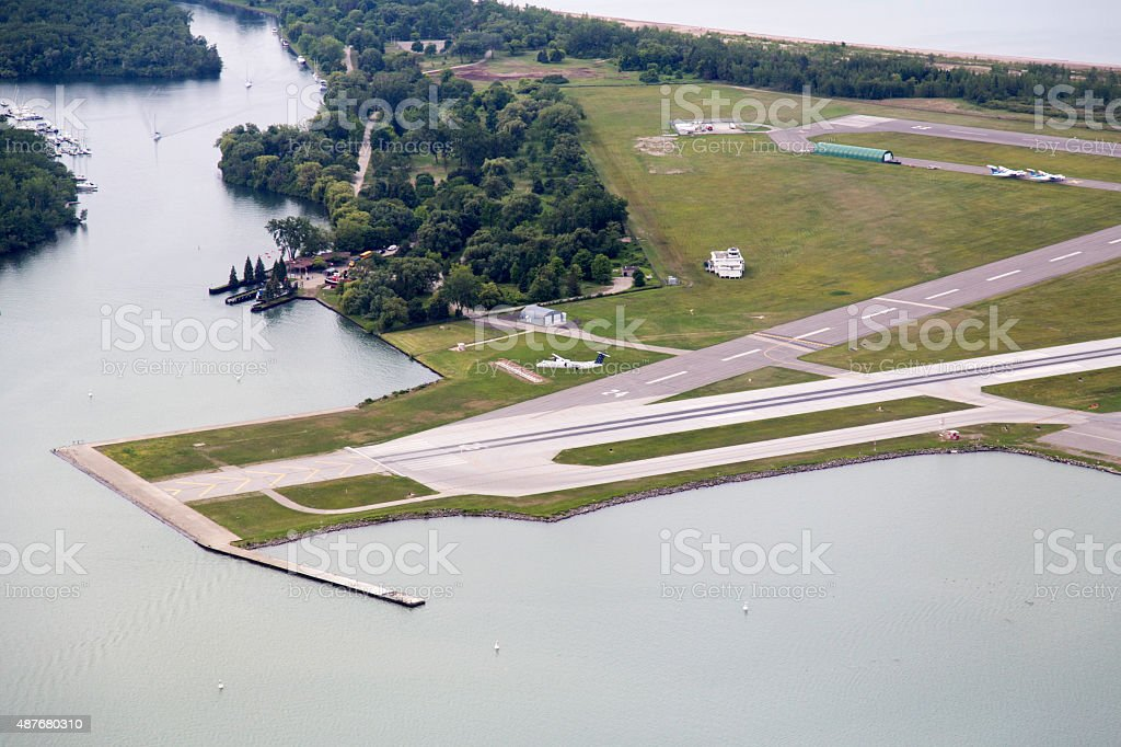 Canada - Toronto - City Airport stock photo
