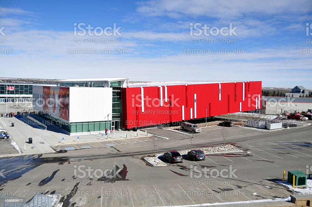 Canada's Sports Hall of Fame stock photo