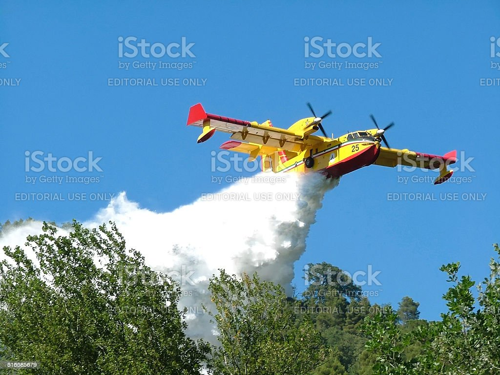 Canadair stock photo