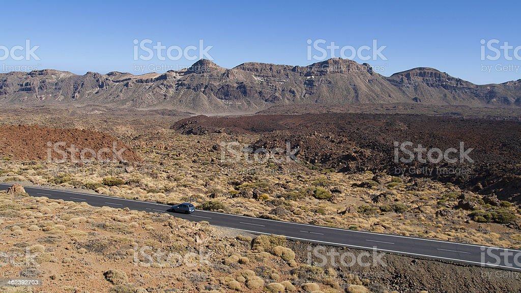Canadas del Teide stock photo