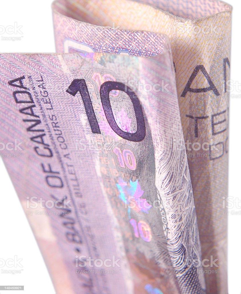 Canadian Bill royalty-free stock photo