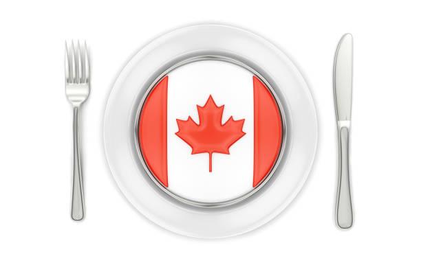 kanadische küche - kanada rundreise stock-fotos und bilder