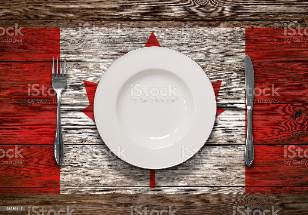 Canadian Cusine stock photo