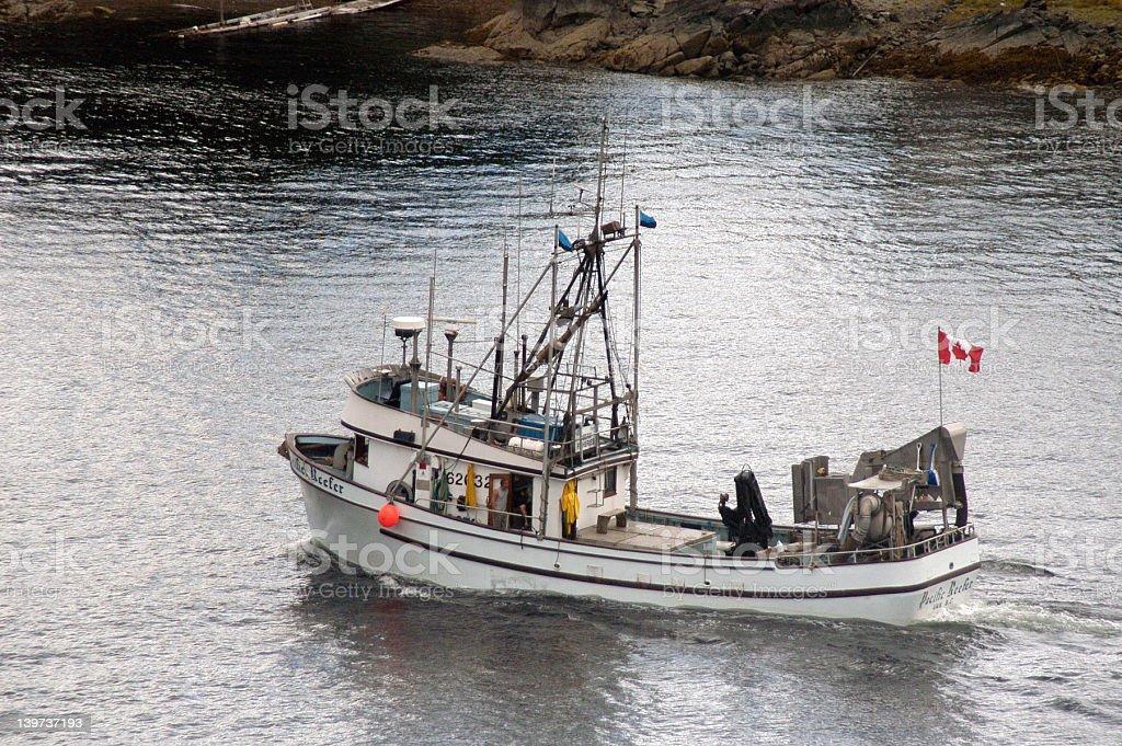 Canadian Fishing Boat royalty-free stock photo