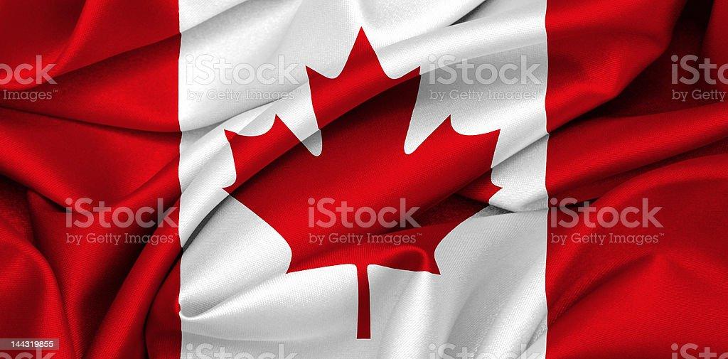 Canadian flag - Canada royalty-free stock photo