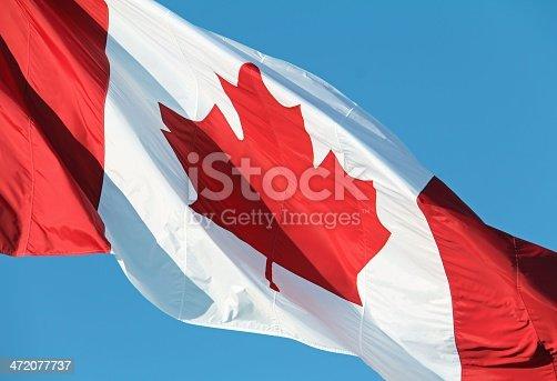 istock Canadian Flag 472077737