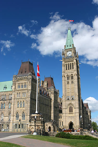 Canadian Government Office stock photo
