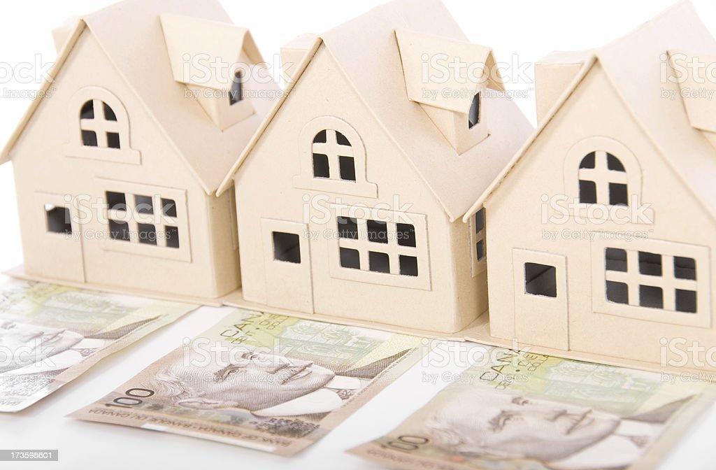 Canadian Housing Market royalty-free stock photo