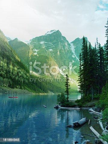 Lake in Banff, Alberta, Canada