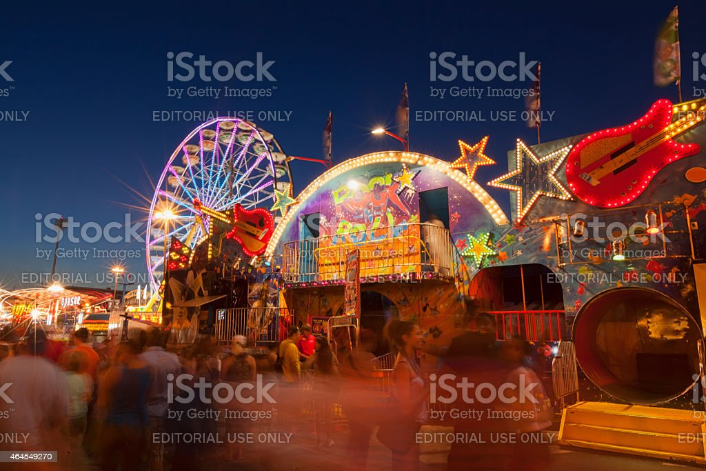 Canadian National Exhibition stock photo