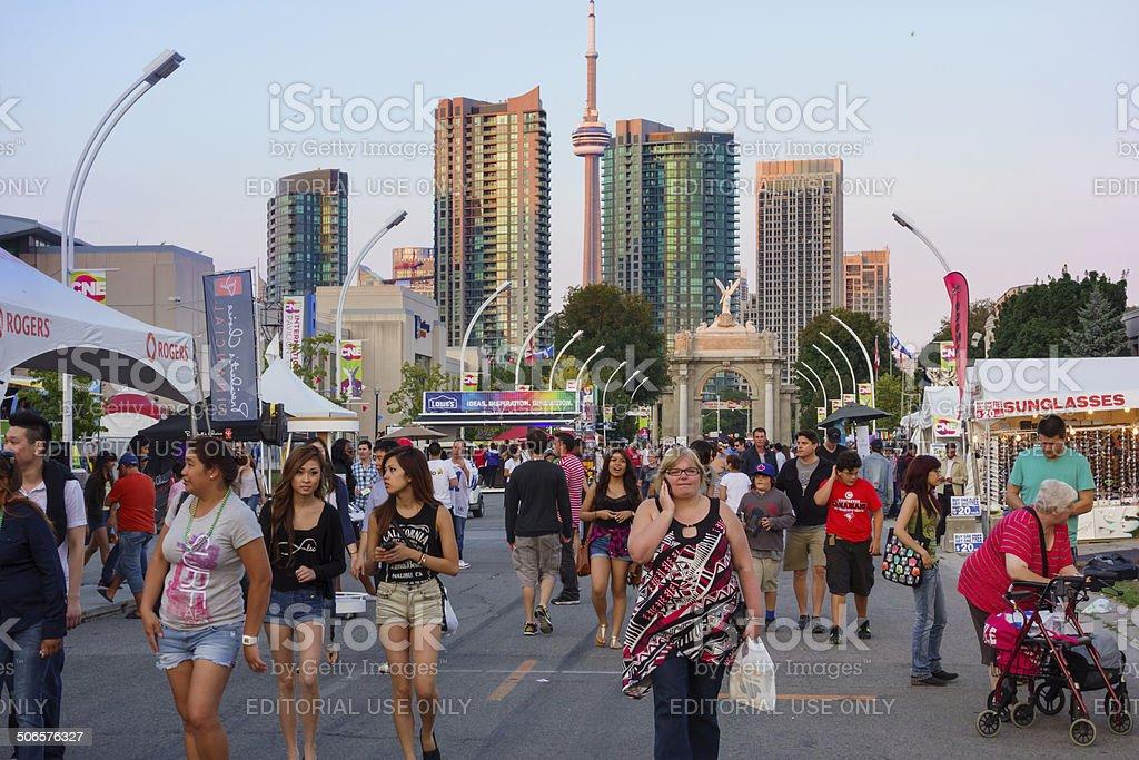 Canadian National Exhibition,  Toronto stock photo