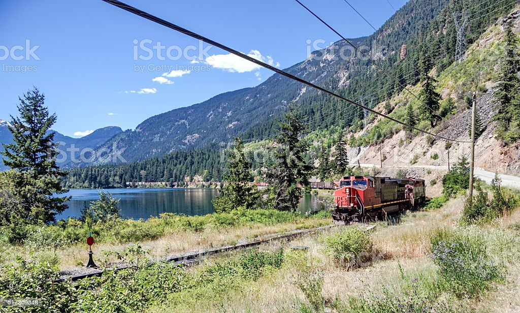 Canadian Pacific Railway stock photo