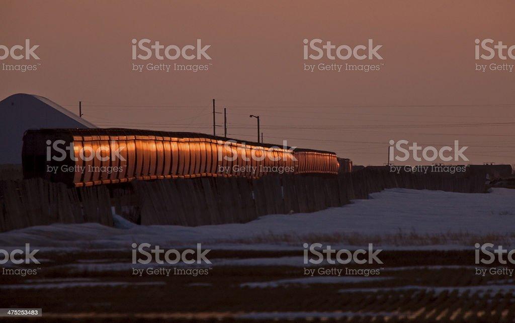 Canadian Pacific Railway Train stock photo