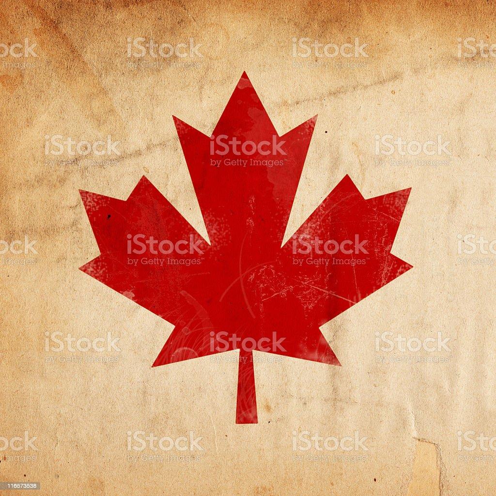 Canadian Paper XXXL royalty-free stock photo