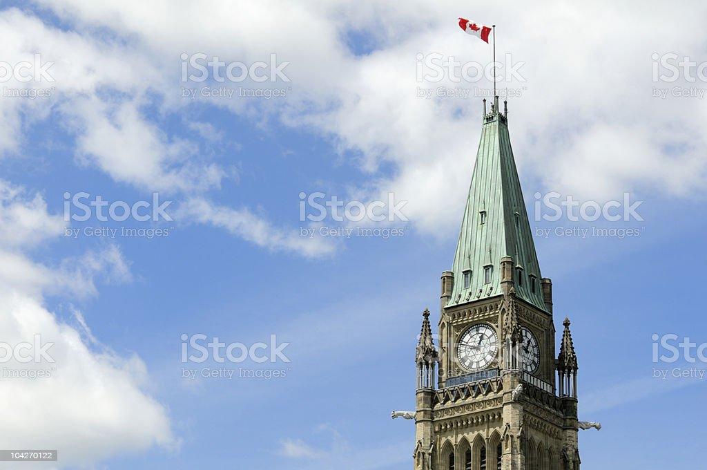 El Parlamento canadiense - foto de stock